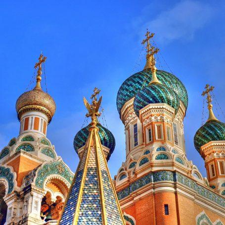 Russische kerk in Nice open voor publiek