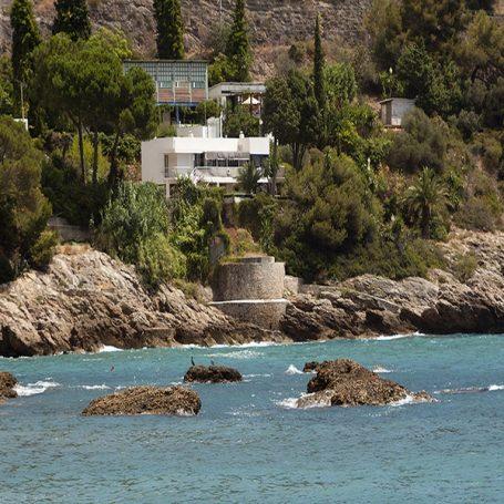 Architectuur: Villa E1027 Roquebrune Cap Martin