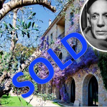 Villa Picasso in Mougins verkocht
