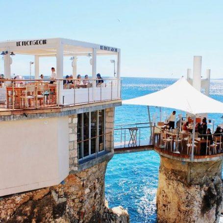 Le Plongeoir in Nice, een restaurant op een bijzondere plek!