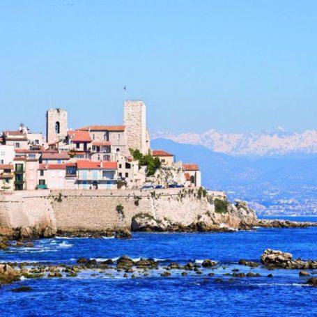 De remparts van Antibes