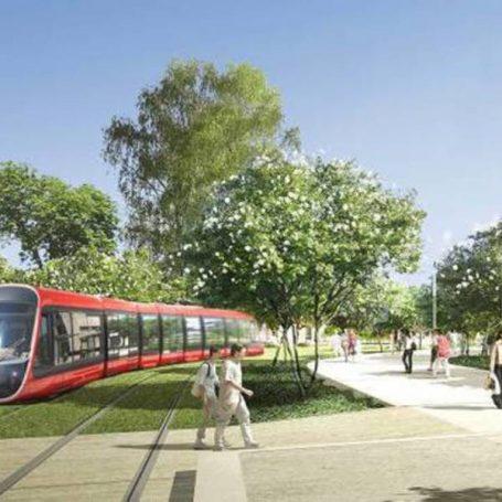 Nieuwe tramlijn Nice