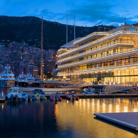 Yacht Club de Monaco by Sir Norman Foster