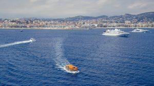 Cannes vanaf het water