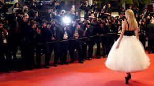 De rode loper in Cannes