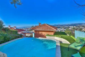 villa met zwembad nice