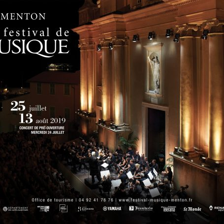 70e Festival Musique Menton 2019