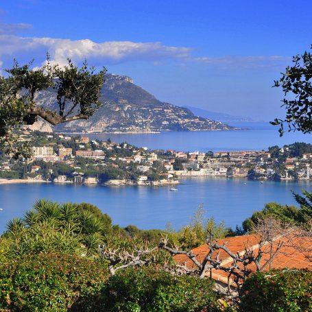Mont Boron, een heuvel in Nice
