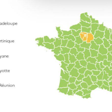 De grenzen met Frankrijk gaan weer open!