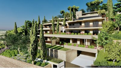 Les Issambres - new construction (97,7 m2 living & 95,4 terrace) high standing apartment with great sea-view