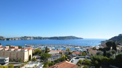 Villa with  panoramic sea view over the Bay of Villefranche