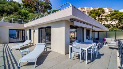 New apartment 3-bedroom of 97 sqm luxury residence in Roquebrune Cap Martin