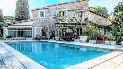 Villa située sur la presqu'île du Cap Ferrat