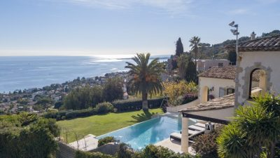 Villa with best sea views on the French Riviera, in Cannes