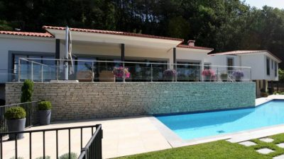 Magnificent contemporary villa with panoramic views, Castellaras
