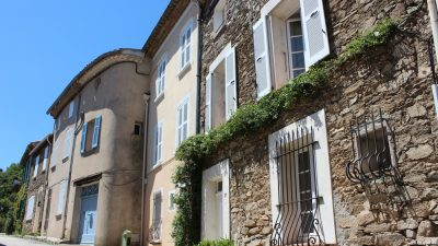Beautifully renovated stone village house with rooftop terrace and garden in La Garde Freinet