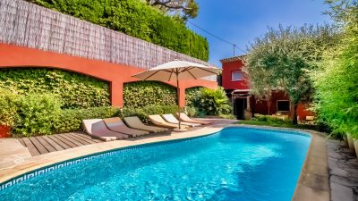 Provencal House 4P Swimming pool Villefranche