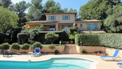 Quality villa, beautiful views, landscaped garden in Les Arcs
