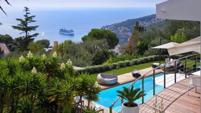 VILLEFRANCHE SUR MER -  VILLA WITH PANORAMIC SEA VIEWS