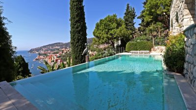 VILLA FOR SALE - VILLEFRANCHE SUR MER - PANORAMIC SEA VIEWS