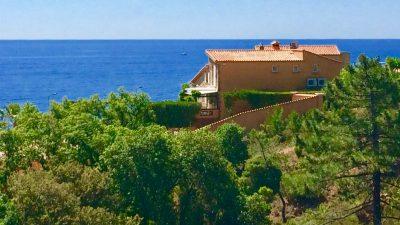 Saint Raphael, Anthéor – Villa spacieux avec maison d'amis indépendante sur la mer