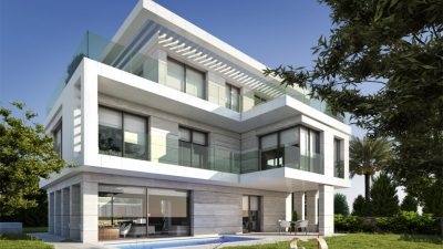 LUXURIOUS MODERN VILLA AT THE HEART OF THE CITY