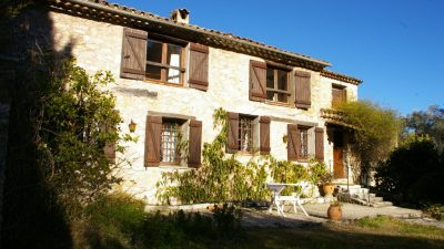 Beautiful stone-built bastide with panoramic views