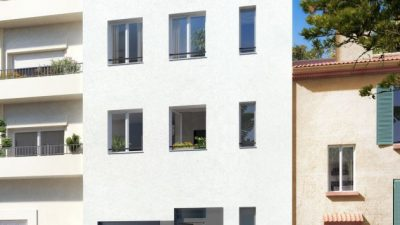 Newly built townhouse, 3 levels, close to the sea and the centre, in  Antibes Îlette area
